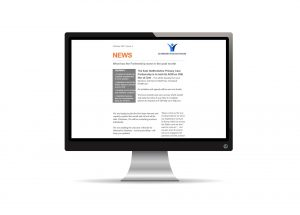 Newsletter on computer